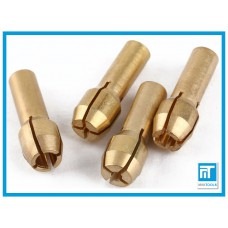 Набор цанг 4 шт. для дремель / гравера 1.0 мм / 1.6 мм / 2.4 мм / 3.2 мм
