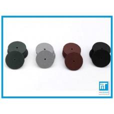 Полировочные (полировальные) резиновые кружки 4 шт. для гравера / дремель / Dremel