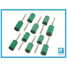 Полировочные (полировальные) резиновые насадки 10 шт. 10 мм для гравера / дремель / Dremel