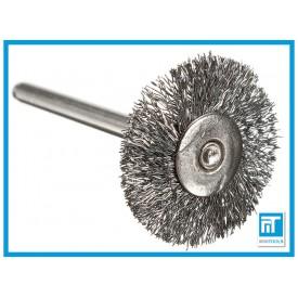 Щетка радиальная проволочная 25 мм для Dremel / дремель / гравера