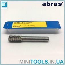 Борфреза Abras (Германия) TZ 1067 B101908 цилиндрическая тип B по металлу карбид вольфрама