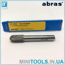 Борфреза Abras (Германия) TZ 1003 C101908 сфероцилиндрическая тип C по металлу карбид вольфрама