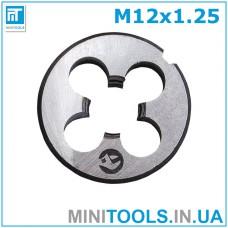 Плашка М12 (M12x1.25) INTERTOOL SD-8236