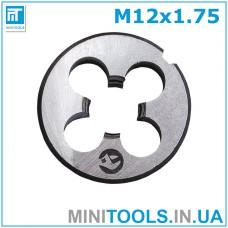 Плашка М12 (M12x1.75) INTERTOOL SD-8234