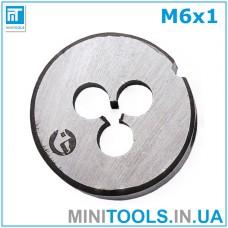 Плашка М6 (M6x1) INTERTOOL SD-8217