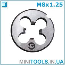 Плашка М8 (M8x1.25) INTERTOOL SD-8221