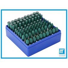 Полировочные (полировальные) резиновые насадки 10 шт для гравера / дремель / Dremel