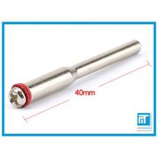 Оправка (дискодержатель) 3,17 мм (пос. диам. 2 мм)для Dremel / дремель / гравера / бормашины