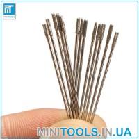 Алмазные мини сверла 1 мм на гравер / Dremel / мини дрель / дремель