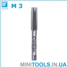 Метчик М3 (М3х0,5) INTERTOOL SD-8106