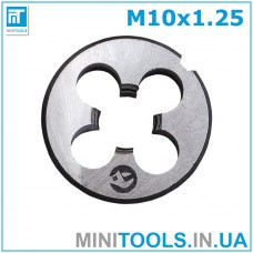 Плашка М10 (M10x1.25) INTERTOOL SD-8230