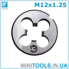 Плашка М12 (M12x1.25) INTERTOOL SD-8236