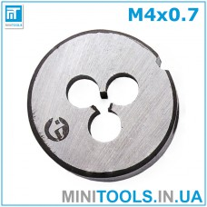 Плашка М4 (M4x0,7) INTERTOOL SD-8210